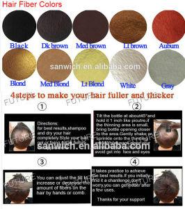 OEM Private Label 25g/28g Hair Fuller Hair Care Treatment Hair Powder Fibers pictures & photos