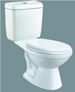 Chaozhou Factory Siphonic S-Trap Two-Piece Wc Toilet pictures & photos