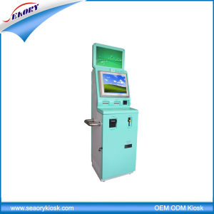 17 Inch Dual Screen Self-Service Terminal Cash Payment Kiosk pictures & photos