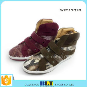 Lady Casual Shoe Woman Casual Shoe Comfort Casual Shoe pictures & photos
