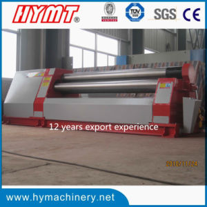 W11H-30X2500 hydraulic 3 rollers Automatic plate bending rolling machine pictures & photos