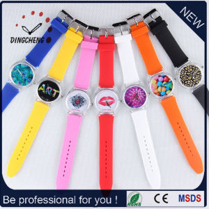 Silicone Strap Silicone Wrist Watches Quartz Watch (DC-481) pictures & photos
