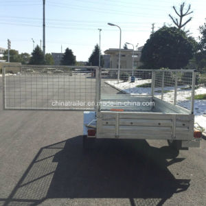 6X4 7X4 7X5 8X5 Hot Dipped Galvanised Box Trailer pictures & photos
