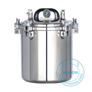Portable Pressure Steam Sterilizer (Electric or LPG heated) (MS-P12L) pictures & photos