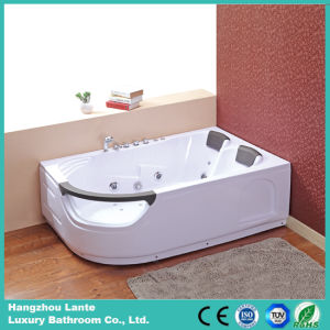 Best Quality Acrylic Economic Whirlpool Bathtub with Ce (TLP-665 pneumatic control) pictures & photos