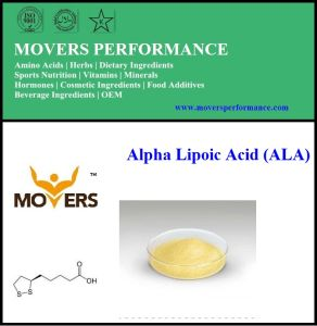High Quality Pure Natural Alpha Lipoic Acid (ALA) pictures & photos