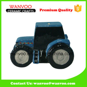 Hot Sale Stoneware Car Coin Bank for Kids pictures & photos
