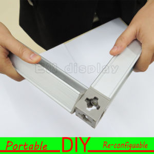 Custom Design Portable Modular Reusable 3X3m Standard Acrylic Exhibition Display Booth pictures & photos