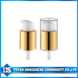 Aluminum Coating Cosmetic Cream Pump for Powder pictures & photos