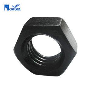 Carbon Steel Black Heated Hex Heavy Nuts