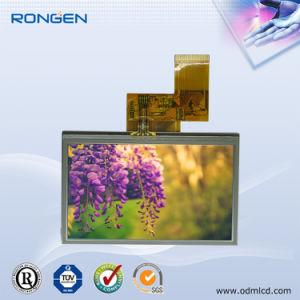 4.3 Inch Touch Screen 480X272 High Brightness TFT LCD Screen 50pin RGB pictures & photos