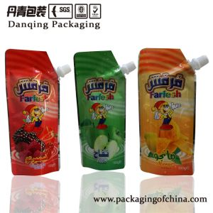 Guangdong Mini Doypack, Juice Drinking Plastic Packaging Bag pictures & photos