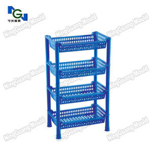 Custom Made Injection Plastic Storage Rack Mold pictures & photos