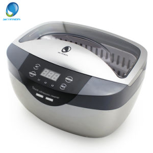 Quick Clean Tarnish Quick Delivery Heated Ultrasonic Jewelry Cleaner pictures & photos