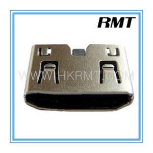 Mini HDMI 19p C SMT Type Female Connector (RMT-160325-023) pictures & photos