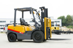 Tcm Technology Imported Japanese Engine 2.5t Gasoline Forklift pictures & photos