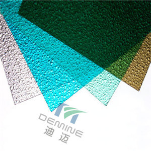 Polycarbonate Textured Sheet for Cabinet Plastic Doors pictures & photos