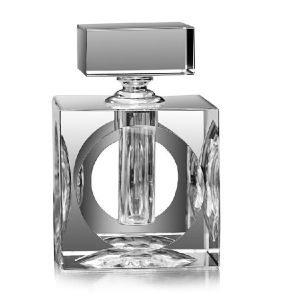 (LT004) Clear Fashion Square Crystal Perfume Bottle