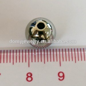 6mm 8mm 10mm Charm Cheap Wholesale Stainless Steel Logo Laser Round Beads pictures & photos