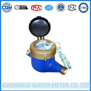 how to stop water meter from reading