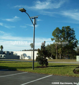 6m 40W Solar LED Outdoor Light with Steel Pole pictures & photos