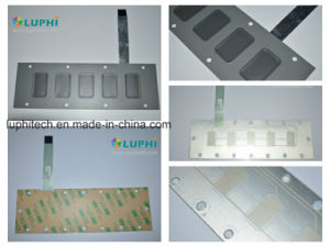 Electric Shield Rim Embossed Buttons Membrane Switch (MIC-0089) pictures & photos