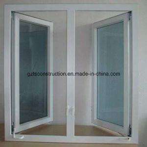 PVC Double Glazing Casement Window pictures & photos