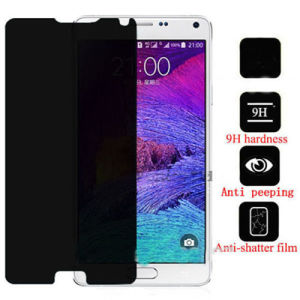 High Security Anti-Spy Peeping Privacy Tempered Glass Screen Protector for Mobile Phone pictures & photos
