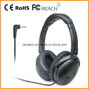 Stereo Aviation Noise Cancelling Headphone with Free Sample (RH-NC02)