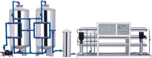 Reverse Osmosis Water Purification System Drinking Watertreatment Machine RO-5000L/H