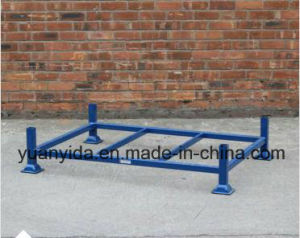 Powder Coated Stackable Warehouse Pallet Rack Steel Pallets pictures & photos