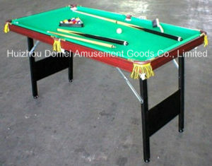 Wooden Folding Billiard Table (DBT3C10) pictures & photos