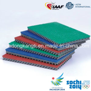 Prefabricated Rubber Matting Rolls for Track, Court, Field pictures & photos
