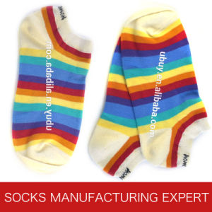 Women′s Causal Cotton Sock (UBM1061) pictures & photos