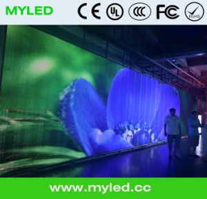 P10mm Outdoor Full Color SMD LED Display Flexible LED Curtain P10 Outdoor Full Color LED Display pictures & photos