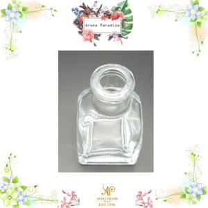 100ml Hot Sale Square Aroma Reed Diffuser Glass Bottle, Glass Jar for Essential Oil pictures & photos
