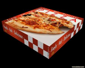 High Quality Colorful Corrugated Paper Cardbaord Pizza Boxes pictures & photos