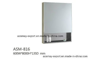 Stainless Steel Mirror Cabinet (ASM-816)