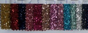 Shiny Chunky Decoration Glitter Wallpaper Fabric pictures & photos