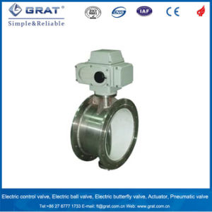 Gas Low-Load Electric Butterfly Valve of 600s Type pictures & photos