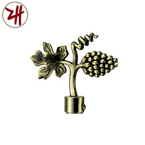 Factory Direct Sale Curtain Rod Decorate Iron Cap (ZH-8129)