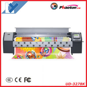Phaeton Ud-3278k 3.2m Flex Banner Solvent Printer (8 seiko 510/50pl head, 4 or 8 colors) pictures & photos