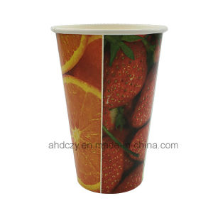 Pure and Fresh Fruit 16oz Waxed Paper Cup pictures & photos