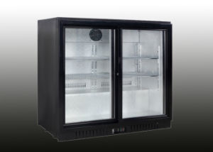 Sliding Door Mini Back Bar Fridge Made in China pictures & photos