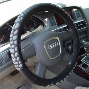 Leather Car Steering Wheel Cover pictures & photos