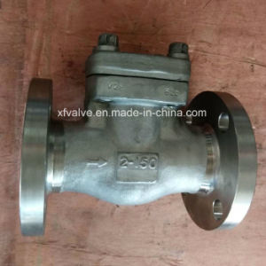 API602 150lb Forged Stainless Steel F304 Flange End Check Valve