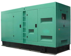 375kVA 300kw Cummins Diesel Generator Soundproof Canopy Ntaa855g7 pictures & photos