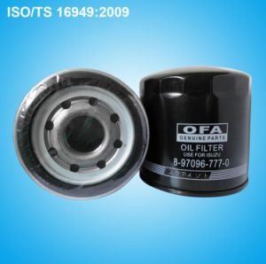 Truck Oil Filter 8-97096-777-0 pictures & photos
