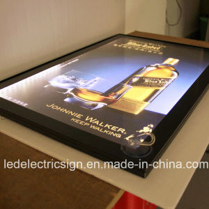 Aluminum Magnetic Frame LED Light Box pictures & photos