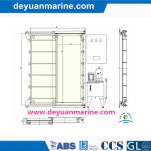 Marine Hydraulic Sliding Watertight Door pictures & photos